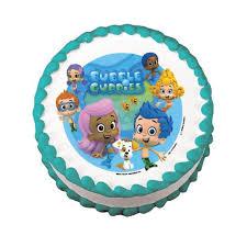 bubble guppies safari cake boutique