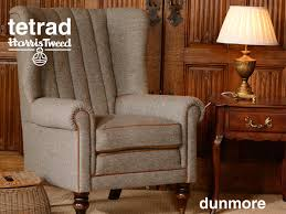 Tetrad Armchair Tetrad Harris Tweed Dunmore Chair