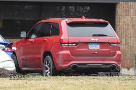 jeep cherokee back images surface of jeep testing grand cherokee hellcat u201ctrackhawk u201d