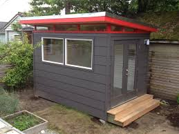 stunning prefab shed kit with backyard office shed and black