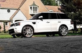 white range rover rims land rover range rover sport niche ritz wheels brushed chrome lip