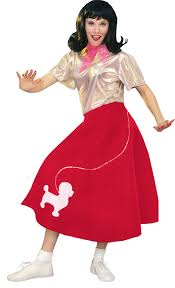 poodle skirt halloween costume 1950s fifties halloween costumes nightmare factory 1 of 2 pages