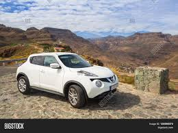 nissan juke japan price canaria spain april 21 2016 white nissan juke in the mountain