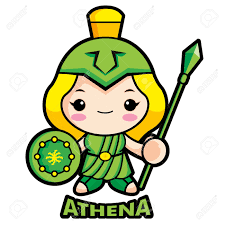 mythical clipart athena pencil and in color mythical clipart athena
