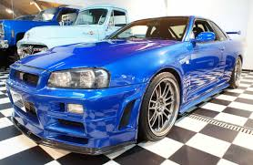 nissan skyline r34 for sale fast and furious blue nissan skyline r34 gt r no car no fun