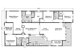 5 Bedroom Mobile Homes Floor Plans Triple Wide Mobile Home Floor Plans Mobile Home Floor Plans 5