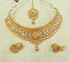 bridal choker necklace images Buy bridal choker necklace set code zntf online from janvi jpeg