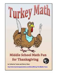 thanksgiving math project by mining the middle years tpt