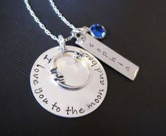 I Love You To The Moon And Back Personalized Necklace Google Image Result For Http Www Thevintagepearl Com Images