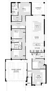 4 bedroom open floor plans best 25 4 bedroom house plans ideas on house plans