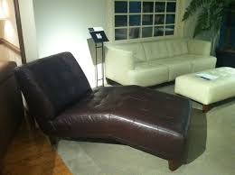 Leather Chaise Lounge Brown Leather Chaise Lounge Design Umpquavalleyquilters