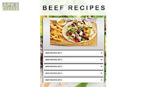 application cuisine android beef recipes 2 for android free at apk here store