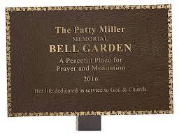 garden plaques church plaque religious plaques bronze church plaques
