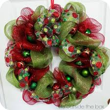beautiful deco mesh wreaths for a fraction of the price
