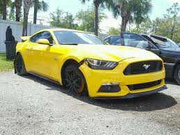 2015 gt mustang for sale 2015 ford mustang gt for sale fl palm salvage