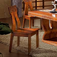 Modern Furniture Dining Chairs by Chinese Restaurant Wood Chair Leisure Chair All Solid Wood Home