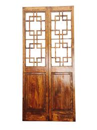 asian style 2 panel room divider screen chairish