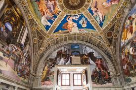 chambres de rapha cite du vatican vatican 12 juin 2015 intérieurs et les détails