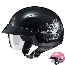 womens motocross helmets hjc women u0027s is cruiser blush helmet jafrum