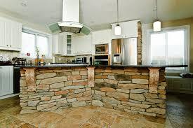 tremendous kitchen island stone front on travertine kitchen