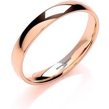 3mm ring brown and newirth 18ct gold 3mm wedding ring lwc 3 18r