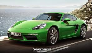 porsche boxster cayman hardtop porsche 718 cayman rendered based on the boxster
