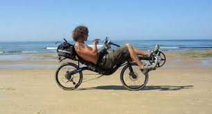 Recliner Bicycle by Challenge Recumbents