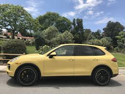 Porsche Cayenne Yellow - spied is this the worst possible color for the porsche cayenne