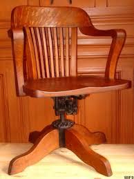 fauteuil de bureau basculant fauteuil de bureau de type américain vers 1930
