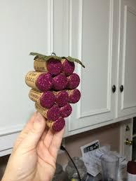 how to make wine cork grape bundles youtube