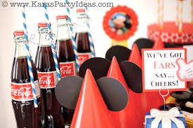 mickey mouse birthday party ideas kara s party ideas mickey mouse themed birthday party planning
