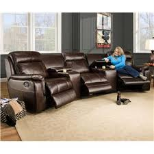 corinthian 862 sectional sofa with 5 seats 2 are wall away