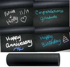 chalkboard wrapping paper 15 foot chalkboard black kraft paper roll 50 weight chalkboard