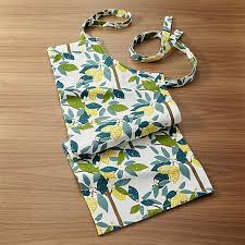 lemon tree apron crate and barrel
