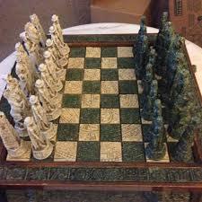 beautiful chess sets best beautiful chess set aztecs vs spanish conquistadors for sale