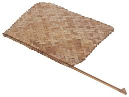 indian handheld fan u2013 hand woven bamboo stripes u2013 vintage inspired
