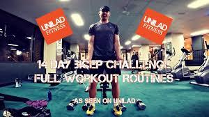 Challenge Unilad 14 Day Bicep Challenge Workout Routines Samuel Ward As