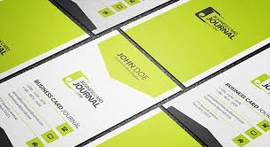 corporate style vertical business card template