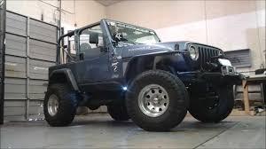 led lights for jeep wrangler visionx l e d lighting jeep tj youtube