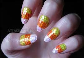 candy corn toe nail art nail art ideas
