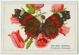 tell 1920s cigarette cards depicting flappers dressed as