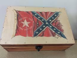 Battle Flag North Carolina Battle Flag Wooden Box