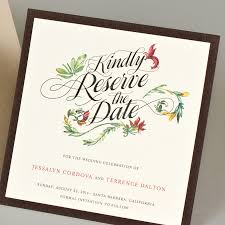 boutique inauguration invitation floral wedding invitations by soiree custom paper u0026 co