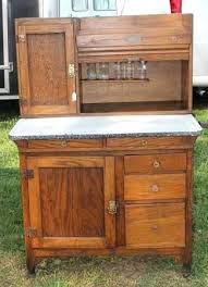 sellers kitchen cabinet hoosier kitchen cabinet antique sellers cabinet whitewashed style
