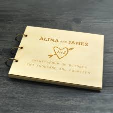 sign in book for wedding personalized wedding guest book rustic wedding guestbook guest