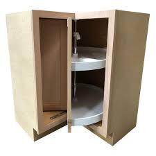 unfinished corner base kitchen cabinet hton assembled 28 5x34 5x16 5 in lazy susan corner base