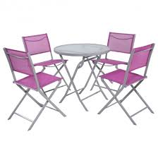 Folding Patio Table And Chair Set 5 Pcs Folding Patio Table Chair Outdoor Furniture Sets Outdoor