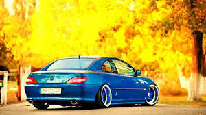 peugeot car wheels peugeot 406 coupe custom wheels youtube