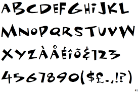 Space Toaster Font Identifont Funhouse