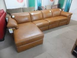 leather electric recliner chaise corner sofa new sensor natuzzi michele electric recliner chaise corner leather